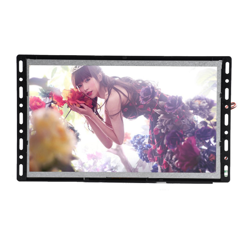 Low Power Consumption Battery Lcd Screen , 800*480 Lcd Media Player