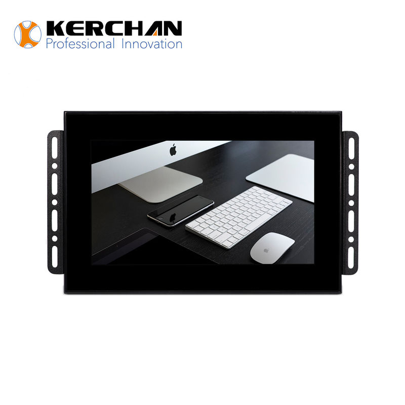 Logo Printing Open Frame LCD Screen Display For Shopping Mall Exhibition