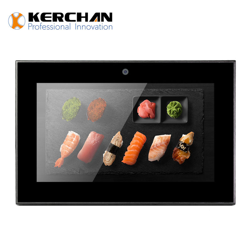 Digital LCD Advertising Display Screen , Small Battery Powered LCD Screen